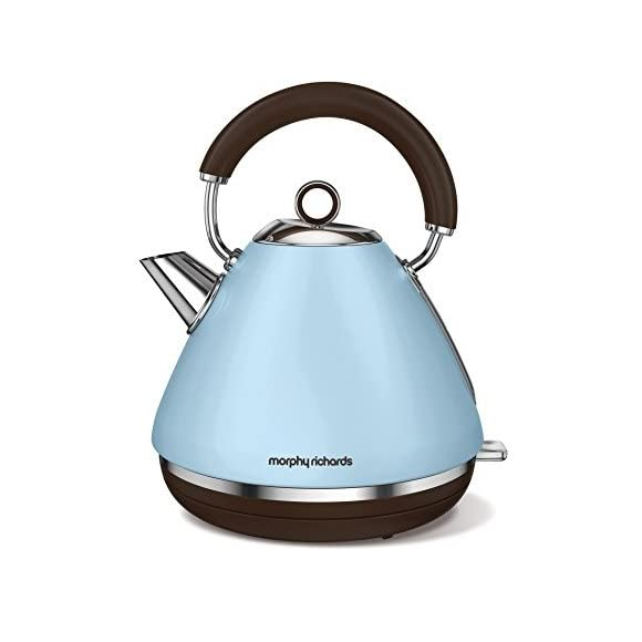 Morphy Richards 102100 Accents Special Edition Duck Egg Blue Kettle