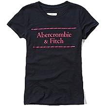 Abercrombie & Fitch da donna con logo in Navy–Nuova Collezione