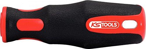 Preisvergleich Produktbild KS Tools 161.0011 Feilenheft,  Rundaufnahme,  200 mm