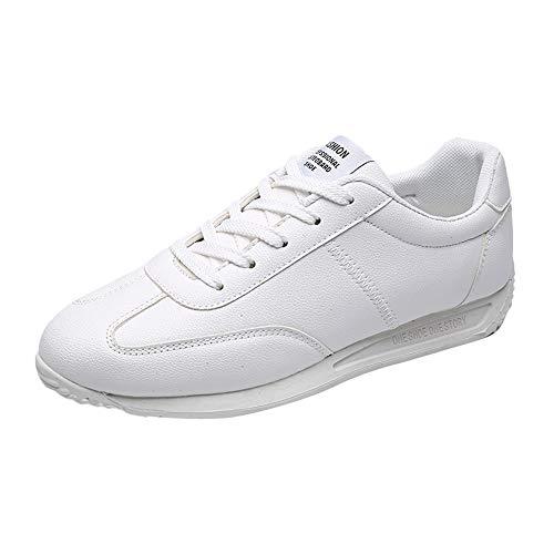 Sconto scarpe da corsa uomo,pantofole uomo invernali peluche uomo piatto gli sport scarpe misto colori traspirante resistente all'usura scarpe da ginnastica