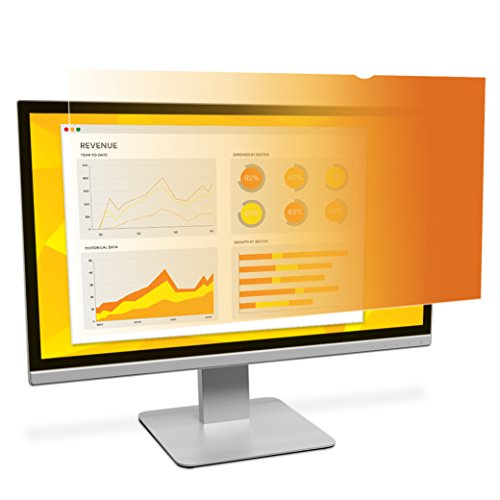 3M Widescreen Privacy Filter for 24-Inch Monitor - Gold