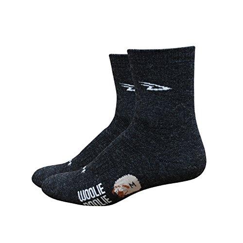 DeFeet Woolie Boolie - Calcetines para Hombre (10,16 cm), Hombre, Color Gris Oscuro, tamaño Small