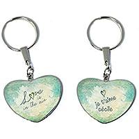 Love is in the air - Porte-clés personnalisable (Idée Cadeau Saint Valentin  Noël 8952e2d958e