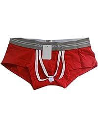 Hollow Out Panties Mens Sexy U Convex Boxer Unterw?Sche Low Waist Shorts Unterhose