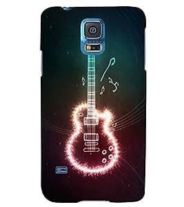 TOUCHNER (TN) Gitar Back Case Cover for Samsung Galaxy S5 G900i::Samsung Galaxy S5 i9600::Samsung Galaxy S5 G900F