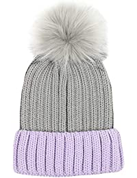 df8e68f3fa743 D Y Women s David and Young Bling Knitted Beanie with pom