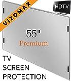 55-Zoll-Vizomax TV-Bildschirm-Schutz für LCD, LED und Plasma-HDTV. UV-Schutz, Fernseher-Displayschutz Protector