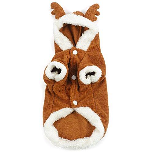 e Kostüm Hundhoodie, Größe: S (Rentier Kostüme)