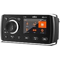 Marine Stereo, Reproductor de Audio y vídeo Dab+/FM/Am con transmisión Bluetooth, para Yate, Barco, UTV, ATV, Power Sport, SPA