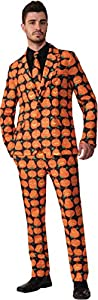 Ciao 16489 - Disfraz de calabaza para hombre (talla única), color naranja