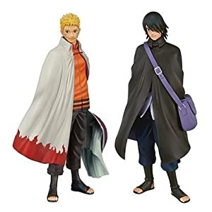 Banpresto Naruto Shippuden DXF Shinobi Relations SP2 Naruto and Sasuke Action Figure Set by Banpresto 5