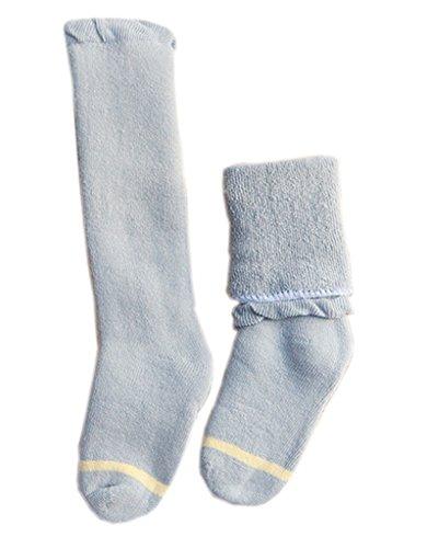 Smile YKK Chausettes Hautes Bébé Coton Unisexe Soft Epaissire de Chaud