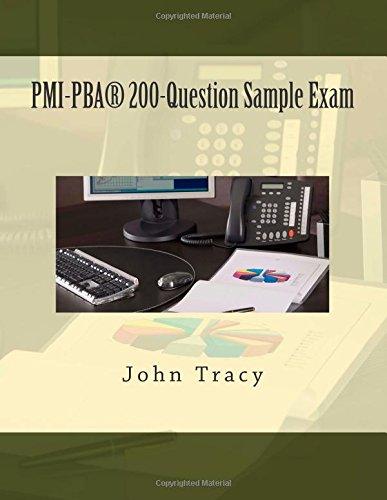 PMI-PBA® 200-Question Sample Exam