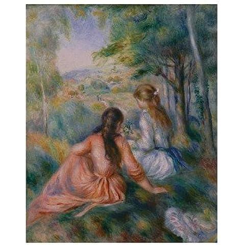 Nel prato poster da Pierre-Auguste Renoir, 11x 14