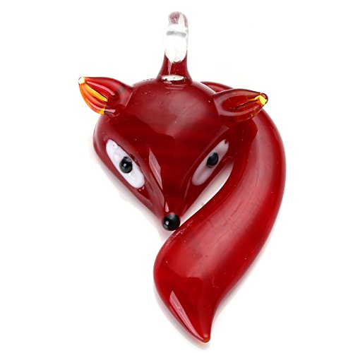 js-direct-lampwork-glass-cute-fox-pendant-bead-for-necklace-jewelry-making-6-colors-red