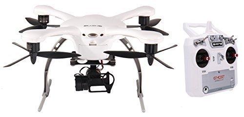 Preisvergleich Produktbild EHANG GHOST Drone Aerial Quadcopter (Android / Weiß) mit i8 Transmitter - Kompatibel mit GoPro Hero 2/3/3+/4 Kamera