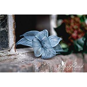 B23 BESTSELLER pastell blau hell blau Haarreifen Fascinator Headpieces Headband Bridal flowers Rockabilly Style Oktoberfest Fasching Karneval