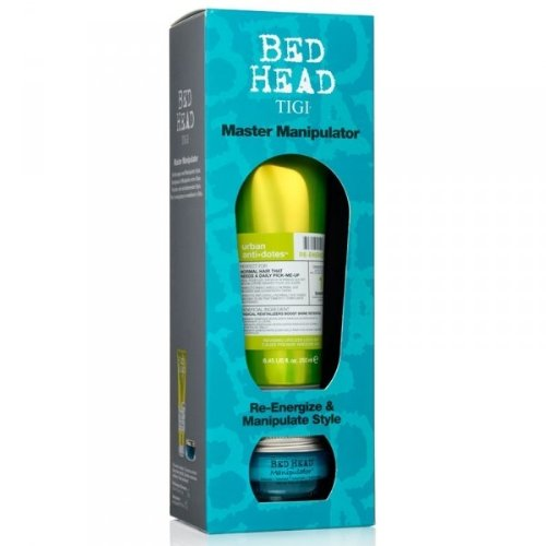 Tigi Bed Head Master Manipulator Set: Re-Energize Shampoo 250 ml + Manipulator 57 g