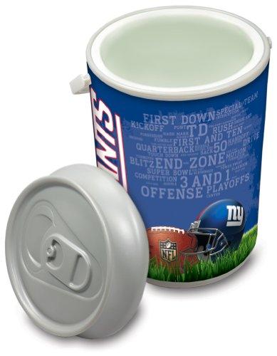 Picnic Time NFL Isolierte Mega kann Kühler, 5-Gallon, Unisex, New York Giants