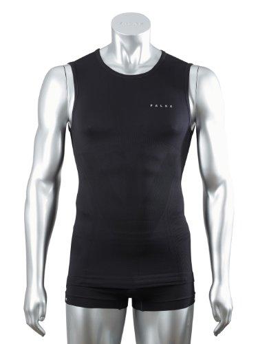 FALKE Herren Running Unterwäsche Athletic Singlet, black, S, 39553