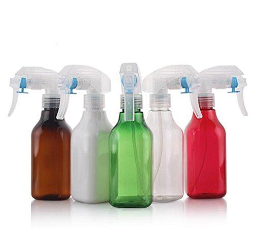 2 pcs 200 ml Portable rechargeable fine Brume Plastique Make Up Empty Spray Pulvérisateur à gâchette Bouteille avec durable Blanc pour produits de nettoyage aux Huiles Essentielles ou aromathérapie