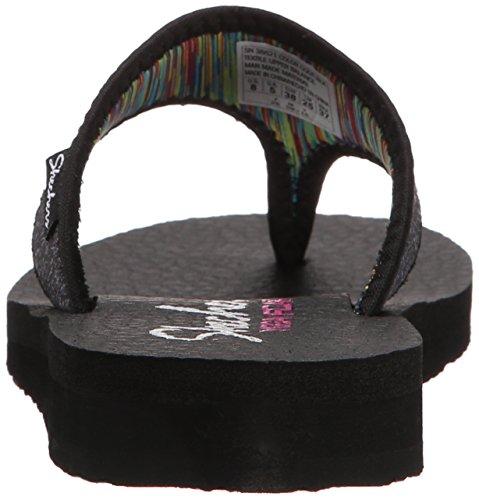 Skechers Cali Meditation Zen Child Flip Flop Black