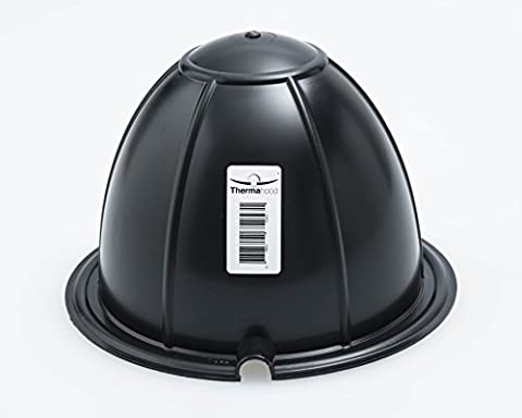 Thermahood - Downlight Covers! Airtight - Flame Retardant - Durable! Thermahood Recessed Downlight Hoods reduce heat loss and Draughts through downlighters! Reduce risk of Condensation & Fire, Reduce Noise transfer. Stop Dust and Insect Infiltration through light
