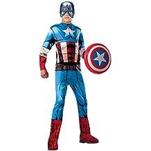 Avengers - Disfraz Capitán América Classic infantil, S (Rubie's Spain 620019-S)