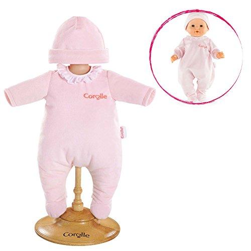 Puppenkleidung original Antonio Juan 3tlg Kleid rosa für Puppengröße 33cm
