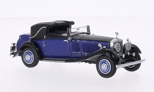 rolls-royce-phantom-ii-continental-dhc-gurney-nutting-blue-black-rhd-0-model-car-ready-made-neo-143-