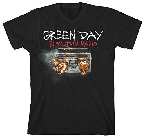 GREEN DAY REVOLUTION RADIO COVER TS Black