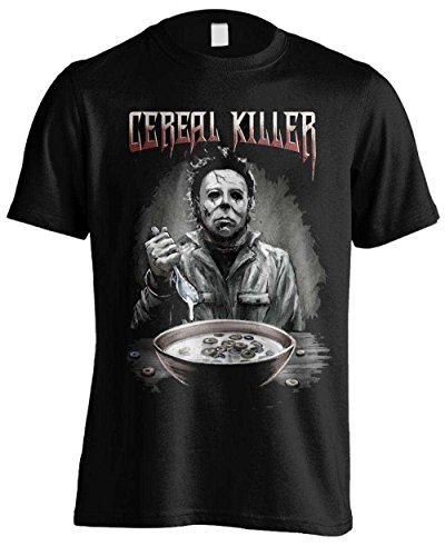 Halloween Cereal Killer Camiseta Negro L