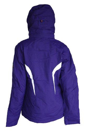 Killtec elvi veste de ski fonctionnelle pour femme violet taille 36 au 50 grandes pointures Violet - Violet foncé