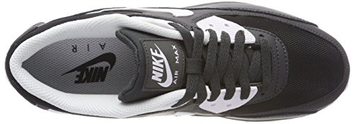 Nike Mens Air Max 90 Essential Leather Trainers Grau (Anthracitewhiteblack 089)