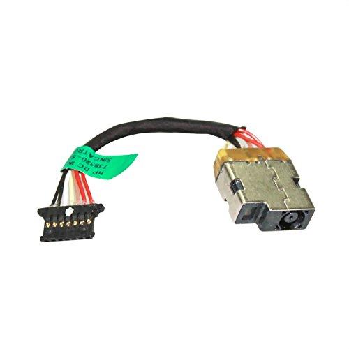 New AC DC Jack Power Plug In Ladeanschluss-Connector Buchse mit Draht Kabel Geschirr für HP Slate All-in-One 17-l00917-l02017-l01017738320-sd1