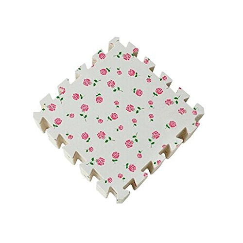 fleurs-interlocking-tiles-mousse-mousse-eva-tapis-de-sol-9-carreaux-blanc
