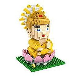 Loz Diamond Blocks Chinese Buddhism 580pc Set Nano Block Mini Figure Great Gift For Boys And Girls Hobbyist