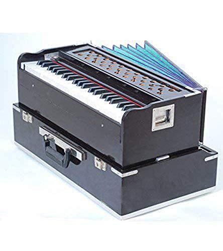 Musical Folding (Portable) Harmonium mit Kupplung Mahagoni/Indian  Harmonium/Professional Harmonium/Portable Harmonium
