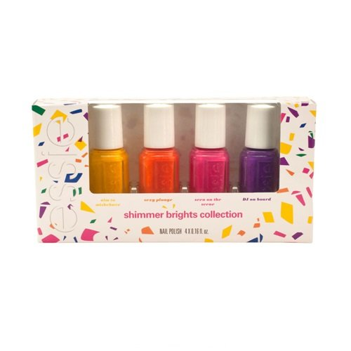 Essie 4 mini vernis à ongles Shimmer Brights 2016