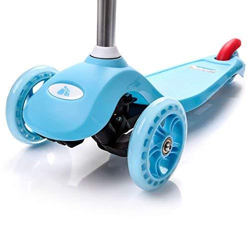 meteor® SHIFT Kinderroller: Dreiräder Scooter Big Wheel 120/80 sicher Kickscooter Tret-Roller Sitzscooter Große Plattform 3 Räder Kinderscooter kompatibel mit dem europäischen Sicherheitsstandard