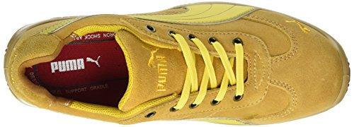 Puma Monza Low S1p Hro Src, Chaussures Espadrilles Homme Jaune (Gelb/gelb 409)