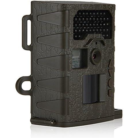 Bestguarder Cámara de Caza Trampeo Rastro (940NM, 12MP, Trail Cámara, PIR Infrarrojo, Sensor de Movimiento, Visión Nocturna) -