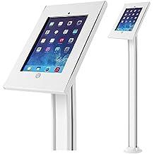 Maclean - Mc de 678universal soporte de suelo para ipad 2/3/4/air, air 2, tablet soporte, soporte de tableta, soporte con bloqueo