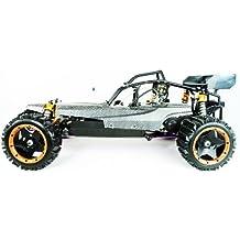 Yama 1:5 Escala Gasolina RC Buggy 2,4 GHz - Versión Pro Carbon 30cc (Carbon)