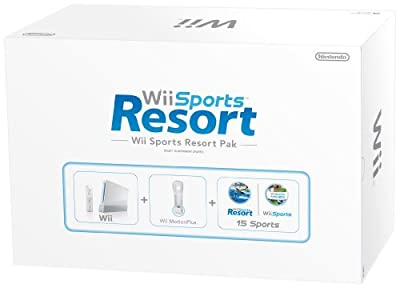Nintendo Wii Console with Wii Sports + Wii Sports Resort and Motion Plus Controller (Wii) from Nintendo
