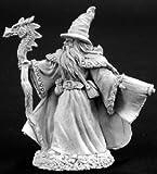 Reaper Miniatures 2771 - Leyendas Oscuras: Lorus Hightower, Sorcerer (sin pintar) [Importado de Alemania]
