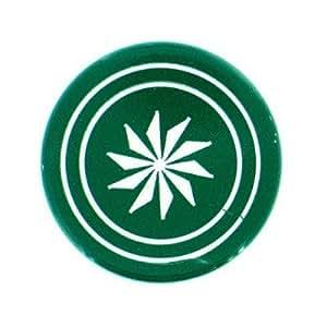 Shuffle puck Jeu de palets de table Palet de compétition 15g : Vert