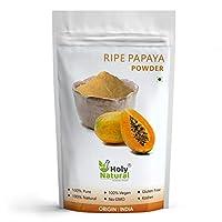 Ripe Papaya Fruit Powder (Spray Dried Powder) Taste Like Natural -100 GM by Holy Natural