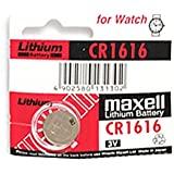 KMH Maxell Lithium Battery 3V CR1616