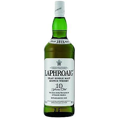 Laphroaig 10 Year Old Single Malt Whisky 35cl Half Bottle